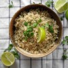 Cilantro Lime Brown Rice (Chipotle copycat!)