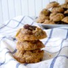 Maple Oatmeal Raisin Cookies (100% whole grain and butter-free!)