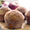 Whole Wheat Apple Cider Donut Muffins