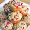 Whole Wheat Cranberry Ginger Pecan Muffins