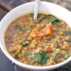 Smoky Sweet Potato, Lentil, and Spinach Stew