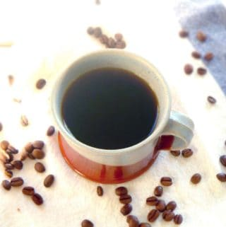 Make the switch to black coffee in one week- you'll never go back to drinking it with cream and sugar again! A huge step toward moderating daily sugar intake.