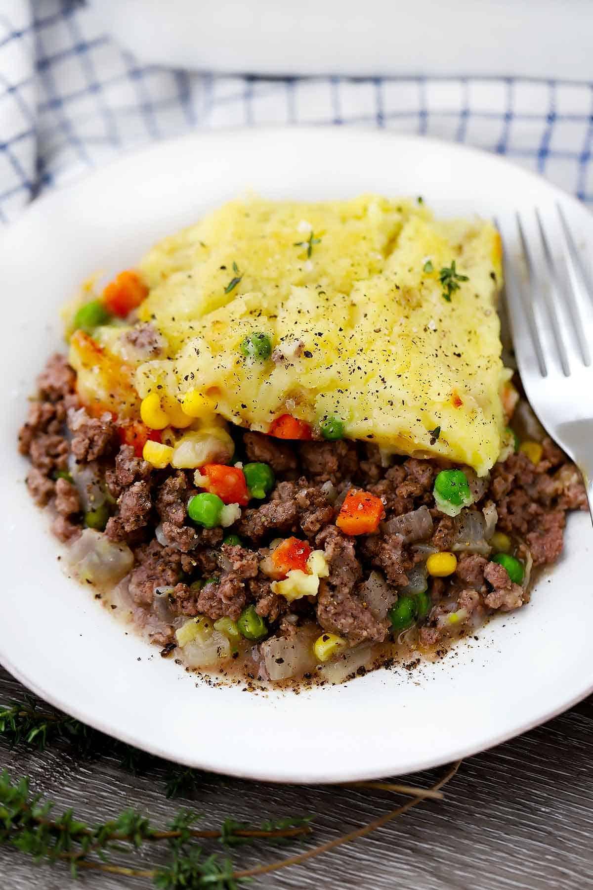 Easy Shepherd S Pie 6 Ingredients Bowl Of Delicious