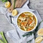 With a few easy shortcuts, this Quick and Easy Chicken Noodle Soup recipe can be whipped up in only 30 minutes! It's still PACKED with flavor from a few tricks and from adding fresh lemon and dill.
