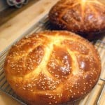 Sweet, orangey, and moist, Vasilopita (Greek New Year's Bread) is so delicious, not to mention beautiful!