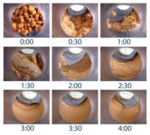 Make your own peanut butter by grinding peanuts in a food processor for four minutes. This is by far the tastiest peanut butter I have ever had, and it is SO easy!