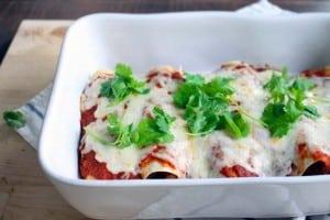 easy chicken enchiladas 1