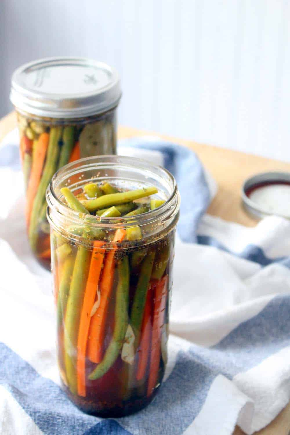 How to Make Green Bean Pickles (Cold Pack) picture