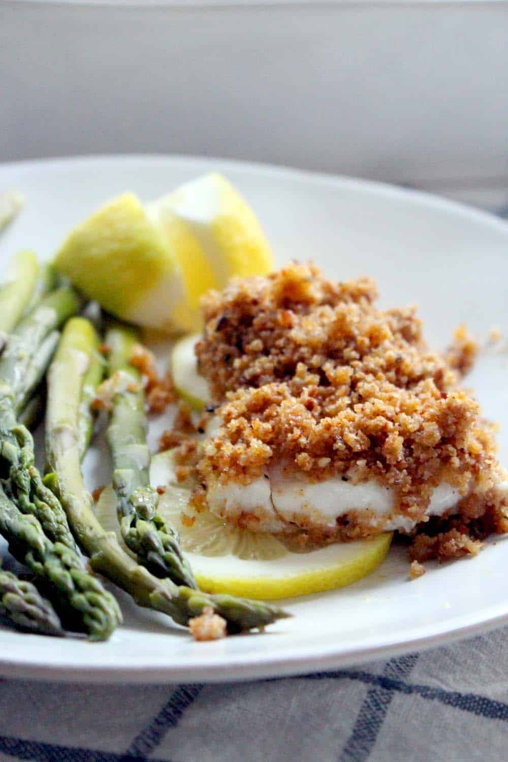 New England Baked Haddock Real Food Edition