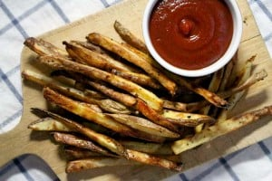 Perfect Oven Baked Fries 2