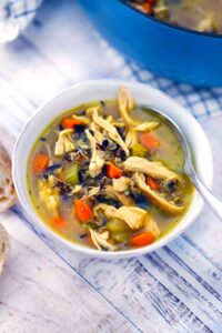 chicken and wild rice soup 1