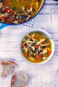 chicken and wild rice soup 2