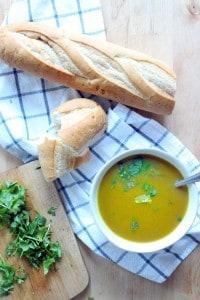 slow cooker butternut squash soup 2