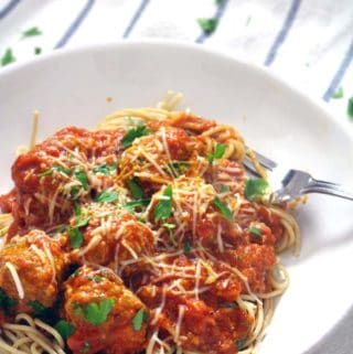Quick and Easy Spaghetti and Meatballs