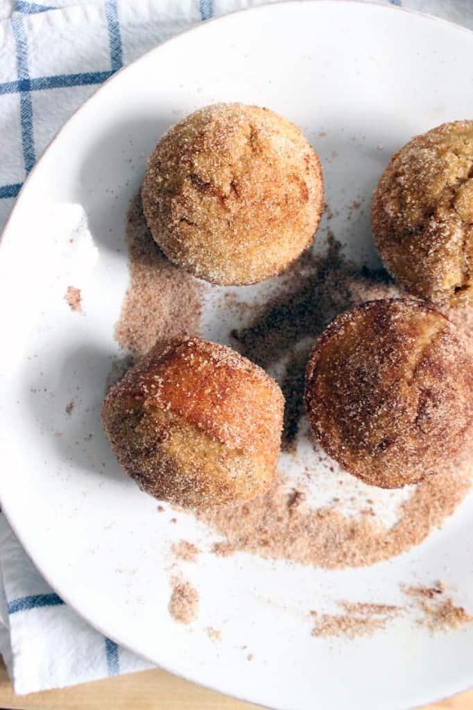 whole wheat apple cider doughnut muffins 3