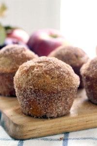 whole wheat apple cider doughnut muffins 4
