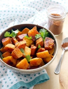 Moroccan Spice Roasted Butternut Squash 3