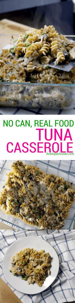 Tuna Casserole No Can From Scratch Real Food Version