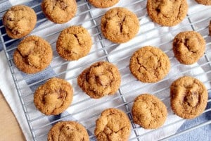 spicy ginger date cookies 1