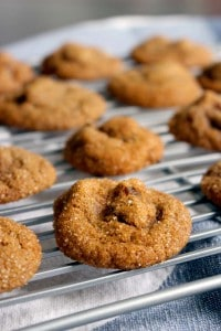 spicy ginger date cookies 2