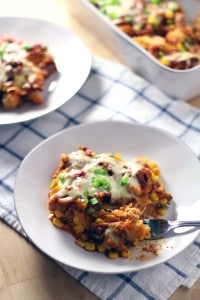 Chicken and Corn Enchilada Casserole 1