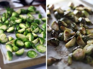 Crispy Brussels Sprouts with Pickled Red Onions 3