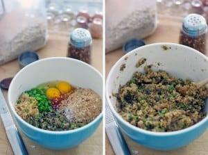 Quinoa, Mushroom, and Zucchini Veggie Burgers 3