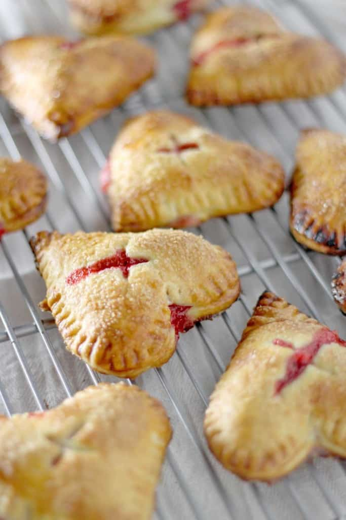 Strawberry Ginger Hand Pies | Bowl of Delicious