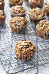 Maple Banana Oat and Nut muffins 2