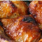 pinterest image for bbq chicken