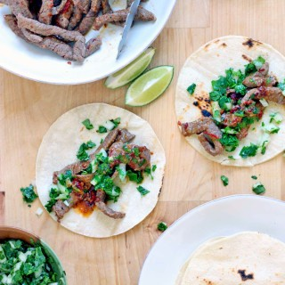 10-Minute Chipotle Steak Tacos