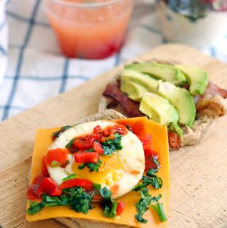 Muffin Pan Breakfast Sandwiches (AKA, how to feed a hoard of hungry teenagers a healthy, real food breakfast)
