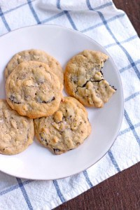 Salted Almond Chocolate Chunk Cookies 2