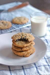 Salted Almond Chocolate Chunk Cookies 3