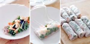 Vietnamese Shrimp Spring Rolls with Spicy Hoisin Peanut Sauce 1