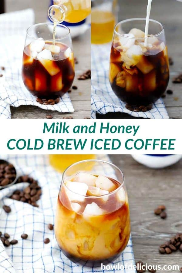 pinterest image for cold brew coffee.