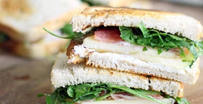 Prosciutto Arugula Sandwich Apple And Prosciutto Sandwich