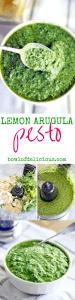 Lemon Arugula Pesto