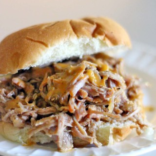 Easy Crockpot Pulled Pork Sandwiches