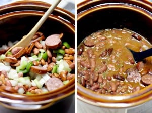 Slow Cooker Red Beans and Rice 1