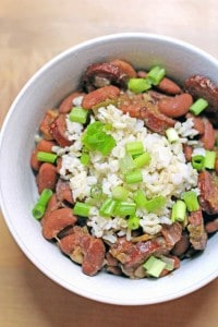 Slow Cooker Red Beans and Rice 2