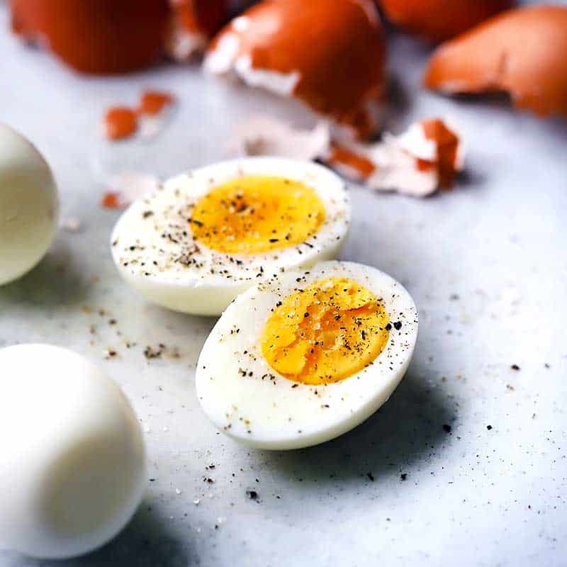 How long to hard boil eggs for coloring
