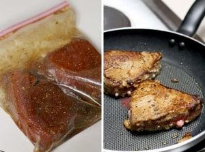 Six Minute Seared Ahi Tuna Steaks 1