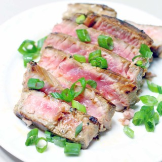 Six-Minute Seared Ahi Tuna Steaks