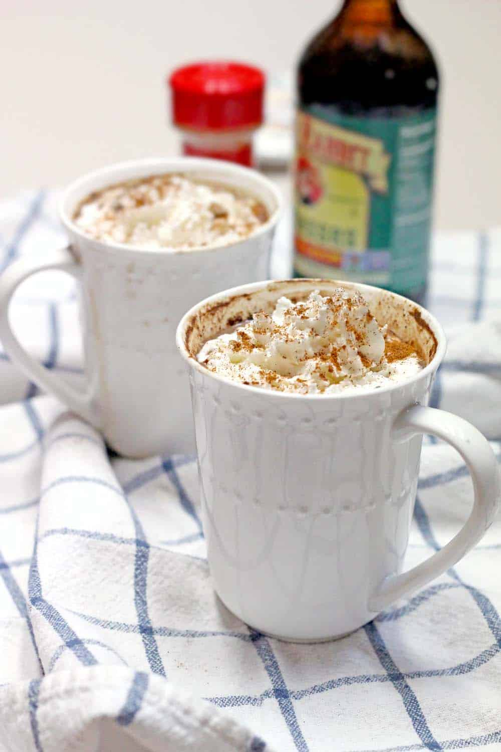 Spicy Mexican Maple and Molasses Hot Chocolate   This hot chocolate has no refined sugar and is smooth, warm, slightly spicy, and decadent with a pinch of cinnamon and cayenne pepper. Sweetened with molasses and maple syrup. SO COZY!