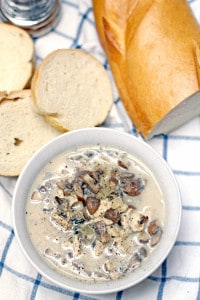 Creamy Mushroom, Chicken, and Wild Rice Soup 2
