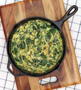 Green Machine Zucchini and Spinach Frittata 3