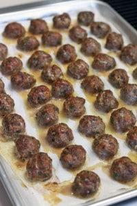 Paleo Greek Meatballs Keftedes and Romesco Sauce_3