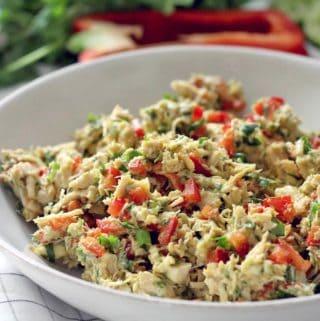 Fiesta Chicken Salad (No Mayo/Dairy Free)