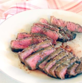 Perfect Pan-Seared Steak with Browned Butter Pan Sauce